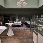 Hotel Zum Löwen Duderstadt Stehempfang im Salon