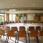 Großer Tagungsraum mit Bestuhlung im Landhotel Am Rothenberg
