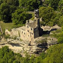 Die Hardenberg BurgRuine