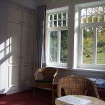 Gästezimmer in der Akademie Waldschlösschen