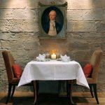 Tisch im Gourmet-Restaurant Novalis im Hardenberg BurgHotel