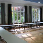 Großer Gartensaal in der Akademie Waldschlösschen