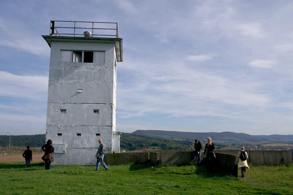 Wachturm beim Grenzlandmuseum Eichsfeld