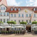 Außenansicht des Hotels Zum Löwen in Duderstadt