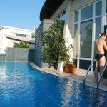 Schwimmbad im Landhotel Am Rothenberg