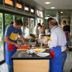 Kochkurs im Landhotel am Rothenberg