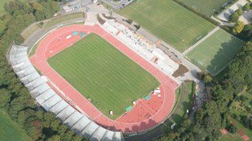 Luftaufnahme Göttinger Jahnstadion