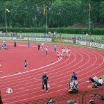 Läufer im Göttinger Jahnstadion