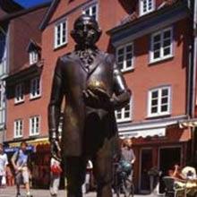 Das Lichtenberg-Denkmal in Göttingen