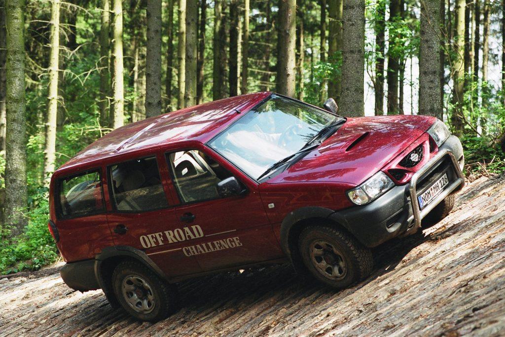 Jeepfahrt Offroad auf dem Gräflichen Landsitz Hardenberg
