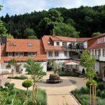 Innenhof des BurgHotels Hardenberg