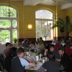 Speisesaal in der Akademie Waldschlösschen