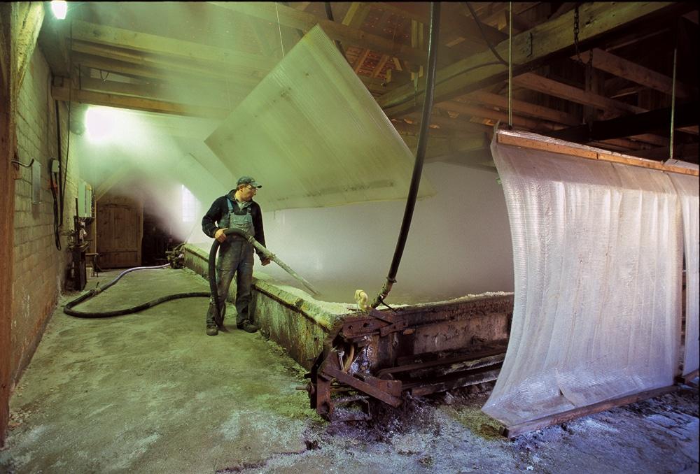 Salinearbeiter in der Saline Luisenhall in Göttingen