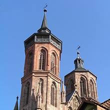 Die Kirche St. Johannis in Göttingen