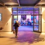 Übergang Wintergarten zum Tagungsraum in der Tagungslocation auswärts