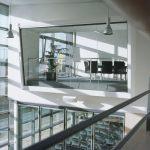 Blick auf modernen Tagungsraum im Sartorius College