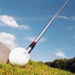 Golfschläger und Golfball, Hardenberg GolfResort