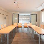 Seminarraum direkt an der Meisterwerk Schulungshalle vom Hotel FREIZEIT IN Göttingen