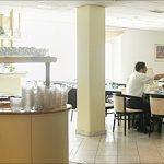 Frühstücksraum im Hotel Astoria