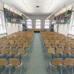 Historisches Gebäude der SUB Göttingen Vortragsraum