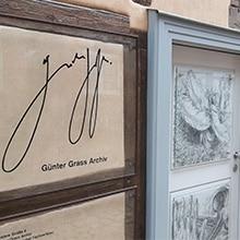 Außenansicht vom Günter Grass Archiv in der Göttinger Innenstadt