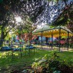 Garten der XL-ORIENT-LOUNGE am Hotel FREIZEIT IN in Göttingen