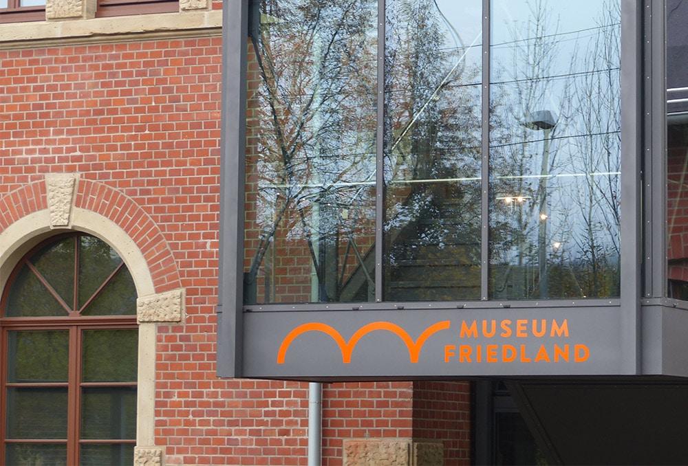 ußenansicht vom Grenzlandmuseum in Friedland bei Göttingen